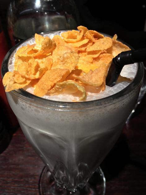 cornflake milkshake at bukowski grill soho