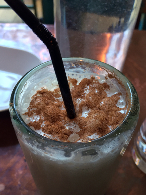 horchata at habanera