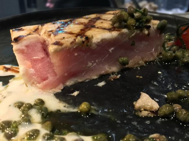 swordfish steak at the barbary