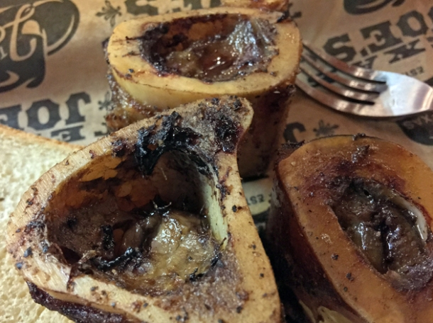 bone marrow at texas joe's london bridge