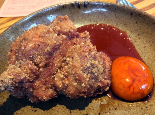 fried chicken chop at bao fitzrovia