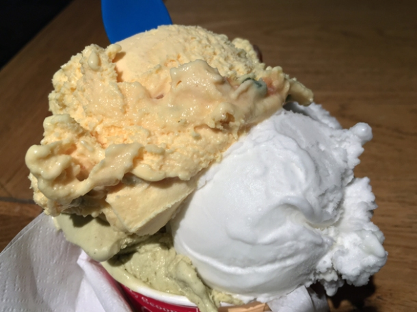 gelato at cafe paradiso bloomsbury