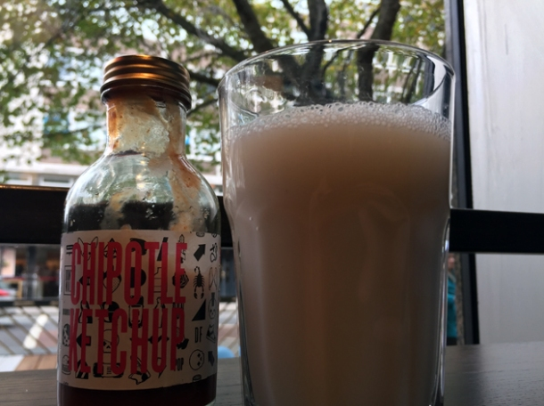 horchata at df mexico