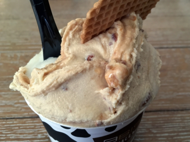 peanut butter gelato at 3bis