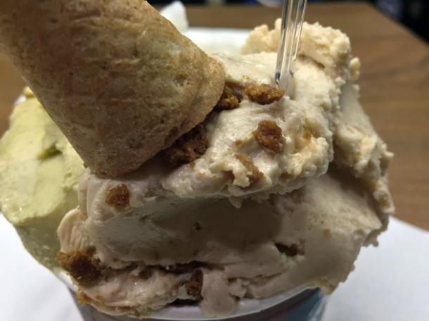 speculoos gelato at amorino islington
