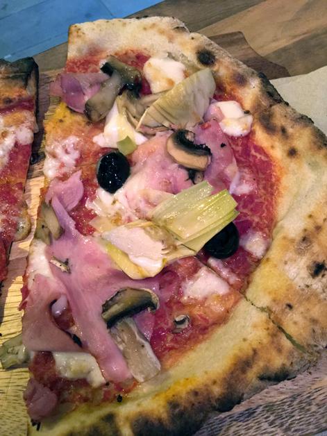 capricciosa pizza at slice & more