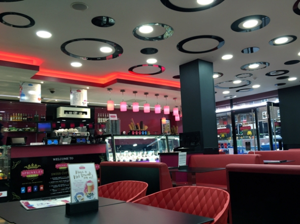 interior of sprinkles gelato