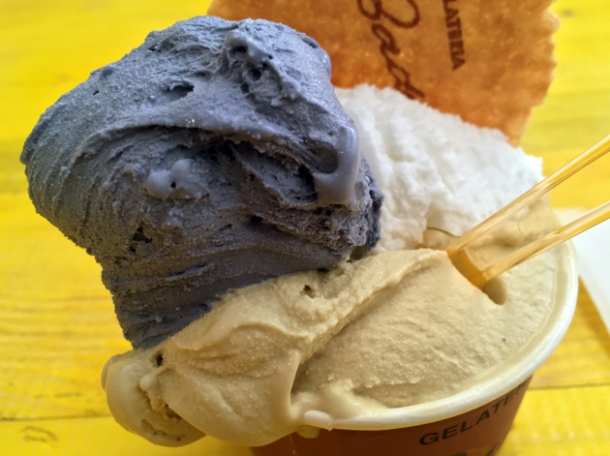 gelato and sorbet from badiani mercato metropolitano london