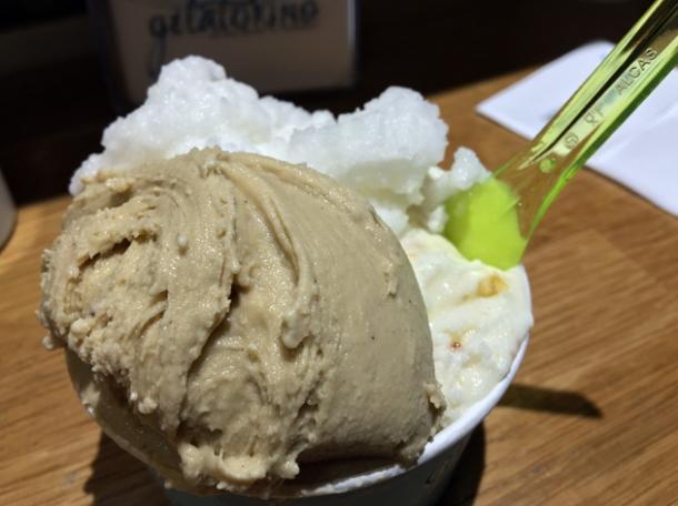 gelato at gelatorino