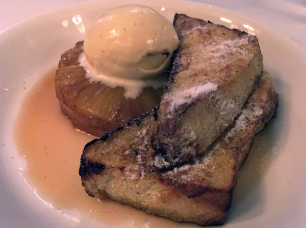 pain perdu at cafe monico