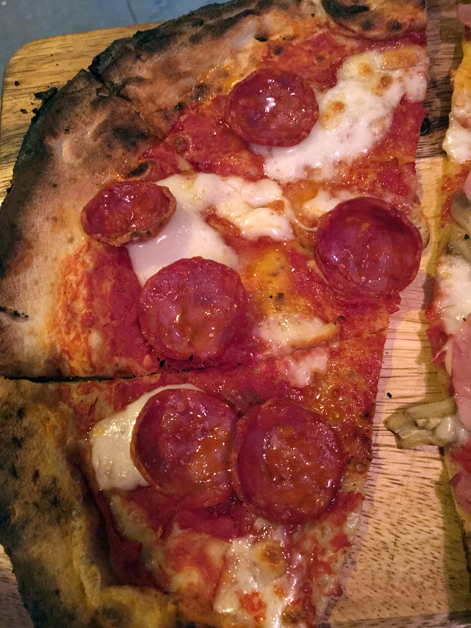 pepperoni pizza at slice & more