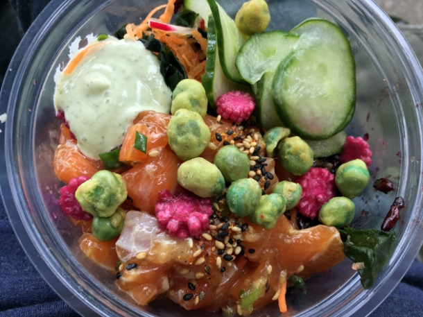 salmon poke from eat poke