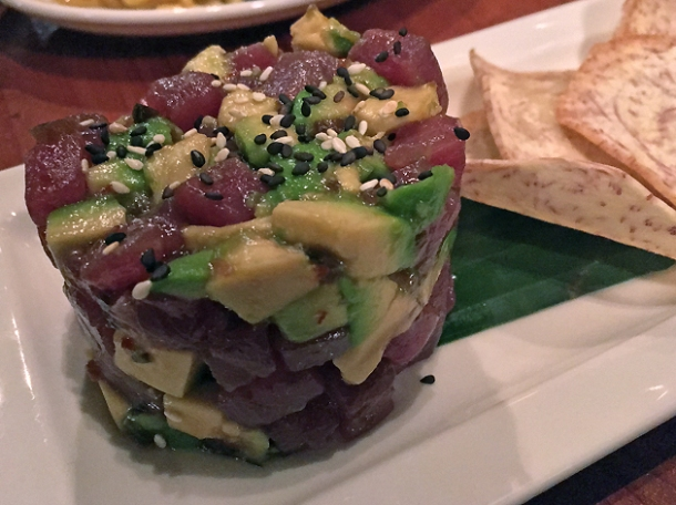 tuna poke at trader vic's