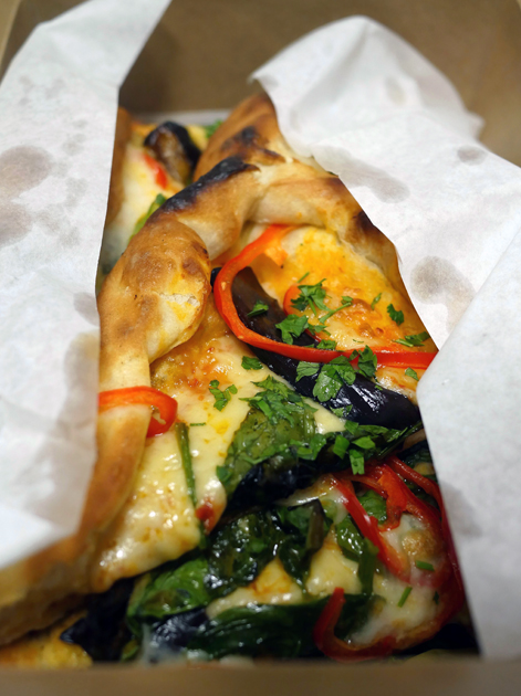 black sea vegetarian pide from pide oven fitzrovia