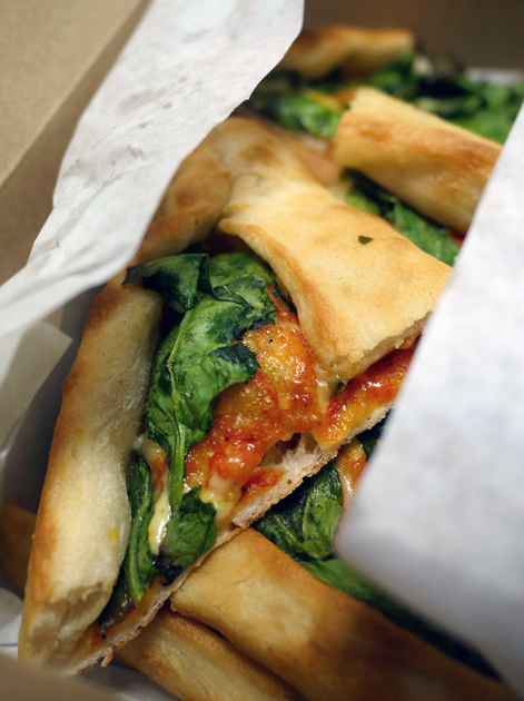 black sea vegetarian pide from pide oven