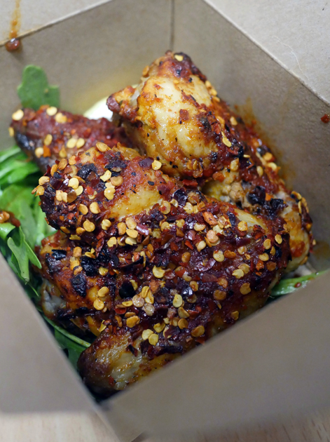 crazy hot chicken wings from pide oven