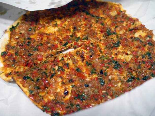 lamb lahmacun from pide oven charlotte street