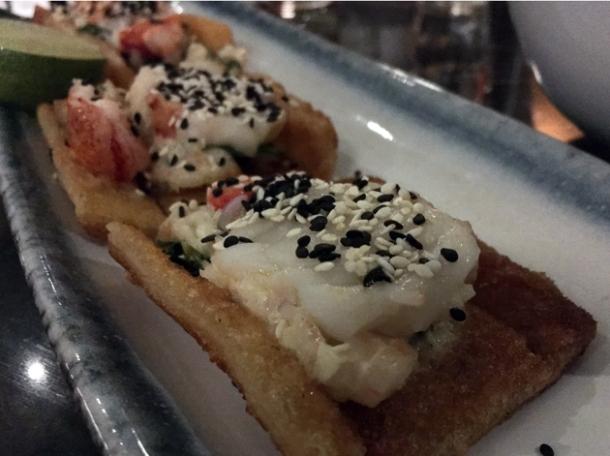 lobster and prawn toast at cha chaan teng london