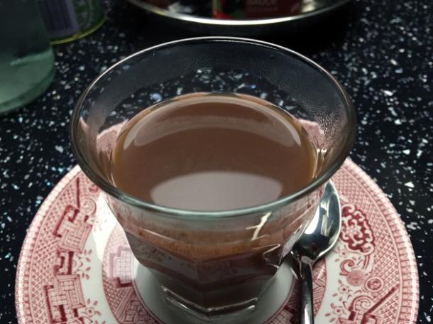 milk tea at cha chaan teng london