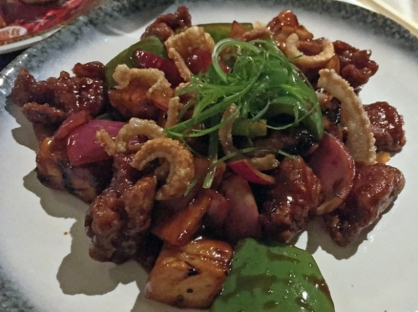 sweet and sour pork at cha chaan teng london