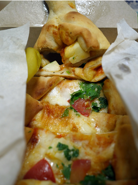 three cheese pide from pide oven