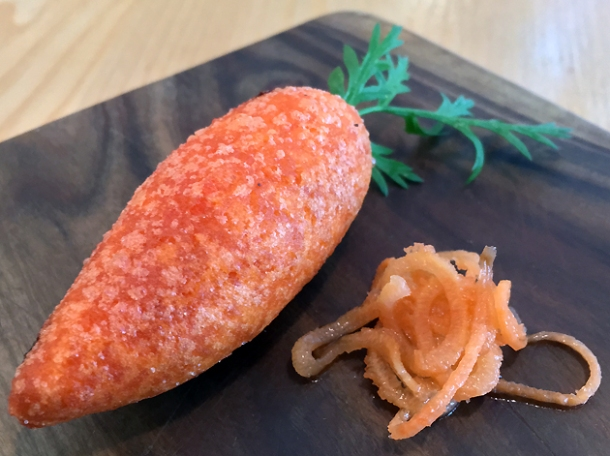carrot rabbit puff at a wong