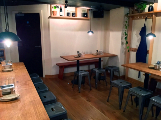 kiln basement dining room