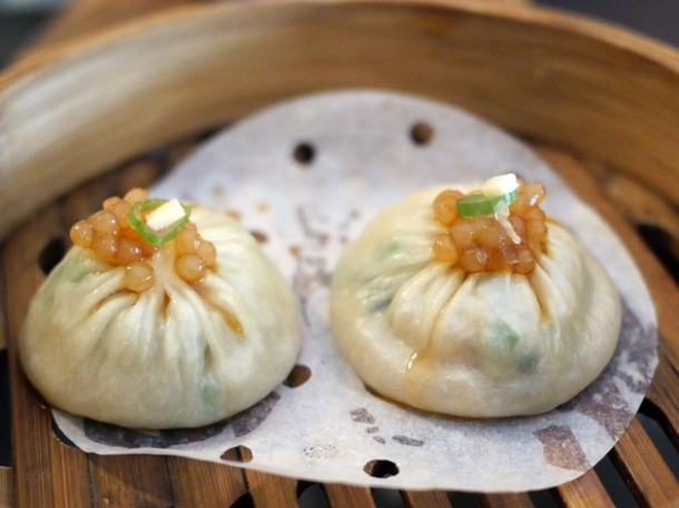 shanghai soup dumplings at a wong