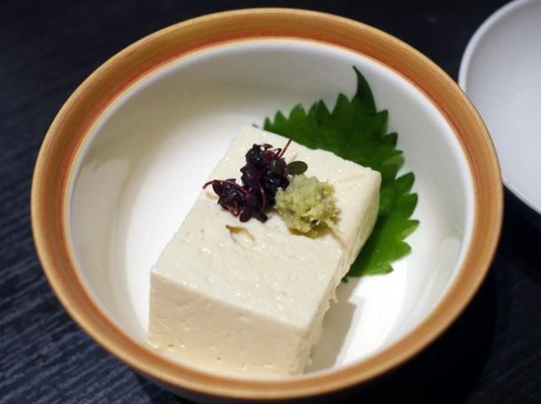 fresh yuba skin at kanda yabu soba