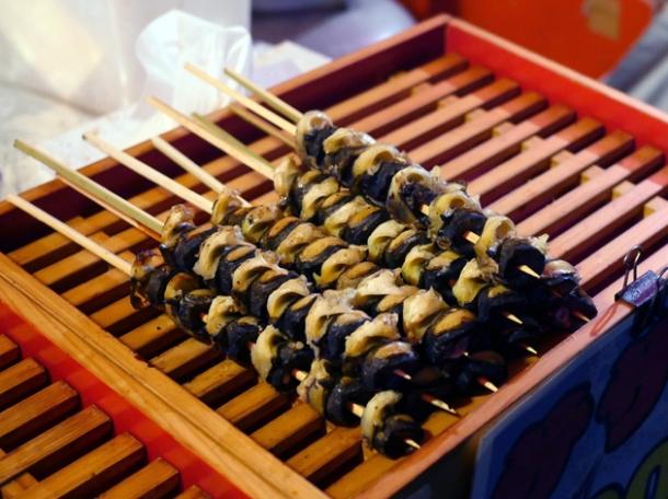 geoduck at kawagoe matsuri