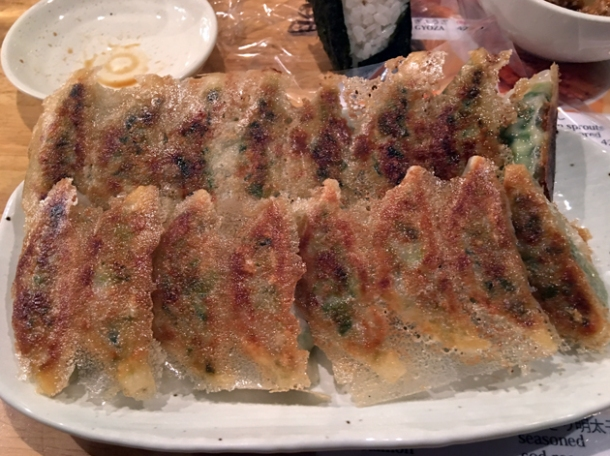 gyoza at hohei gyoza