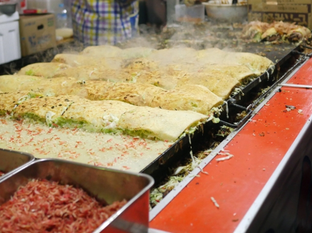 okonomiyaki from kawagoe matsuri