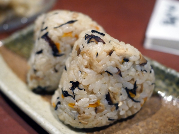 onigiri at little okinawa