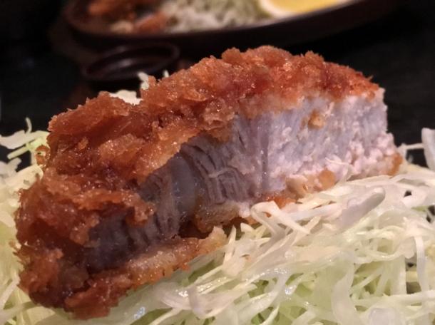 pork tonkatsu at tonkatsu santa