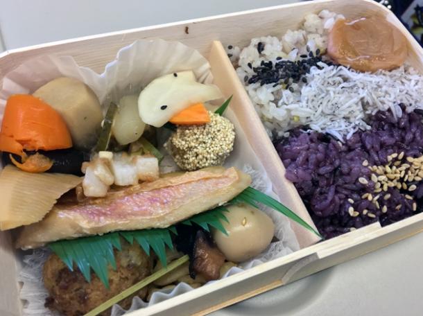 shinkansen bento from bentoya matsuri ekiben ya matsuri