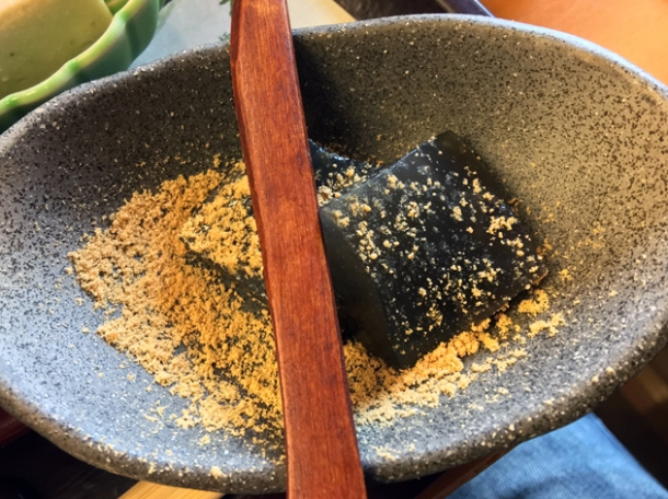 warabimochi at sagatoufuine