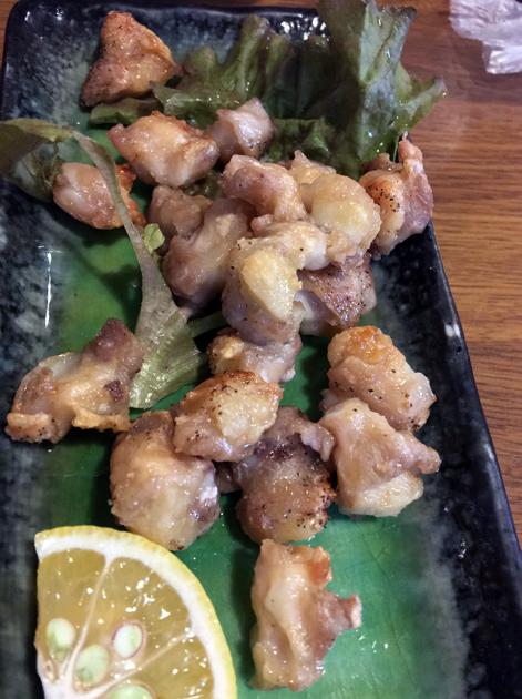chicken cartilage at kanteki