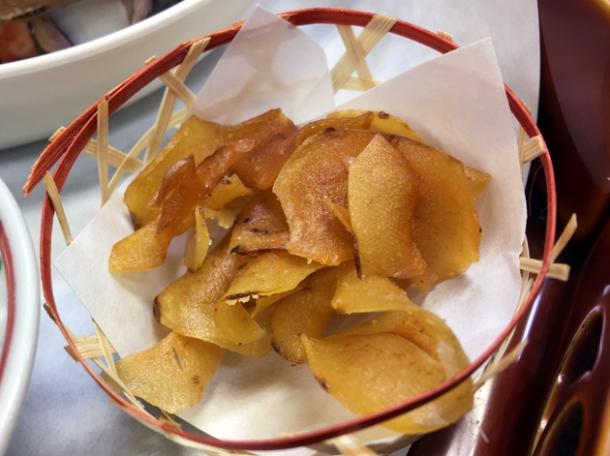 crisps at ryokan adumaya