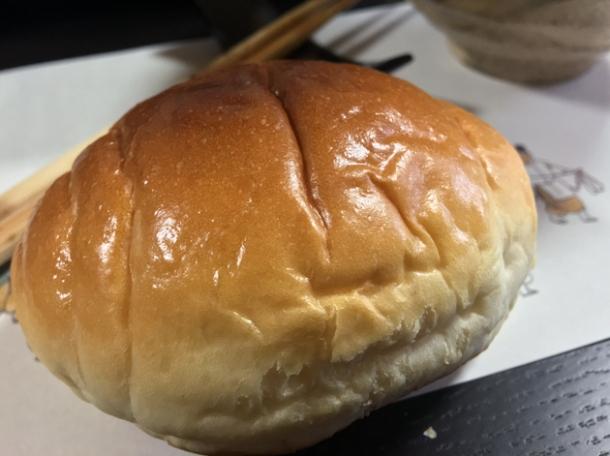 egg bun at minshuku tsugizakura