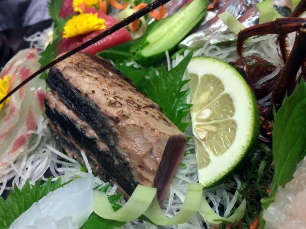 grilled tuna at hotel nakanoshima wakayama