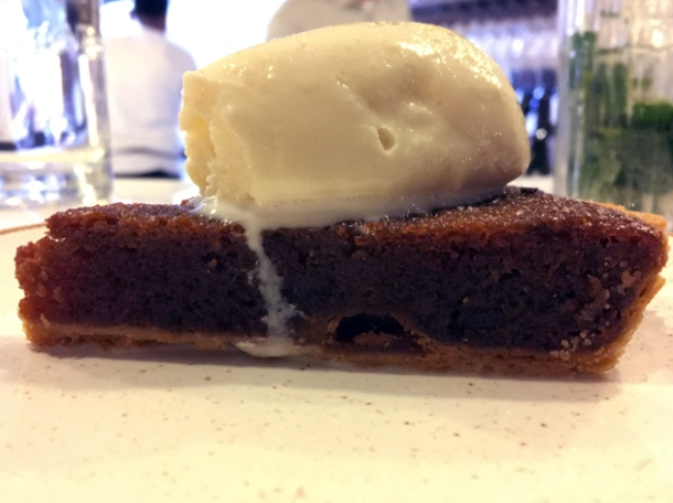 jaggery treacle tart at kricket soho
