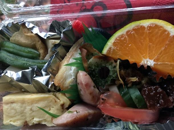 mini bento lunch box from-minshuku tsugizakura