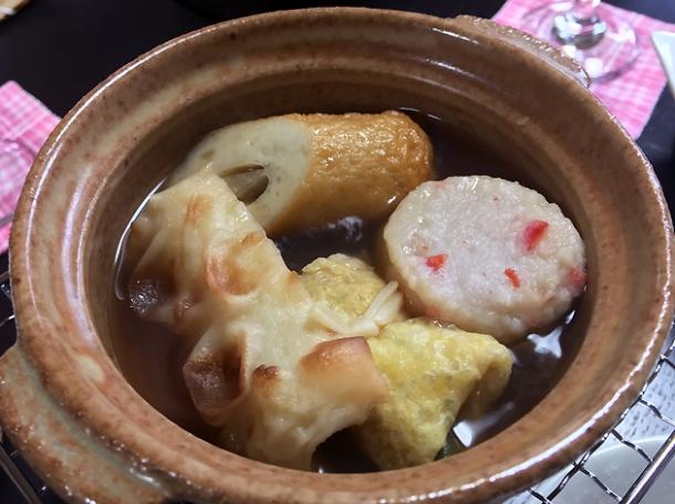oden breakfast at minshuku tsugizakura