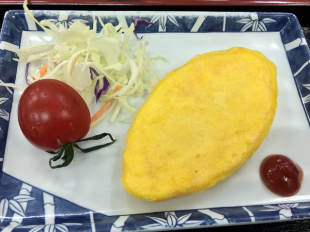 omelette at koguchi shizen-no-ie