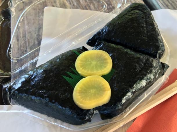 onigiri from koguchi shizen-no-ie