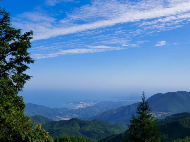 wakayama kii peninsula islands kumano kodo hiking japan