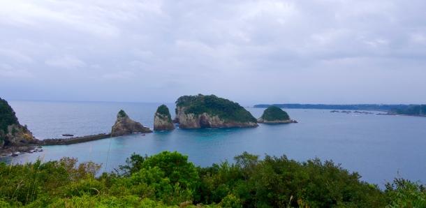 hotel nakanoshima wakayama island hilltop view