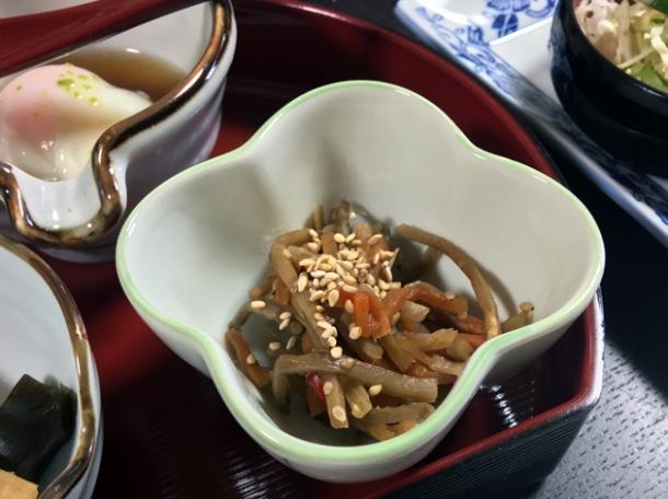 root vegetables at minshuku tsugizakura
