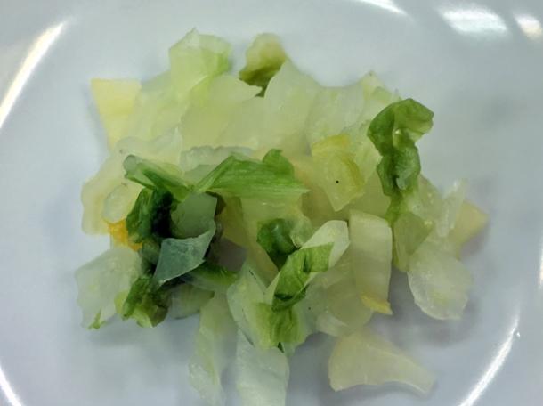 sweet greens at koguchi shizen-no-ie