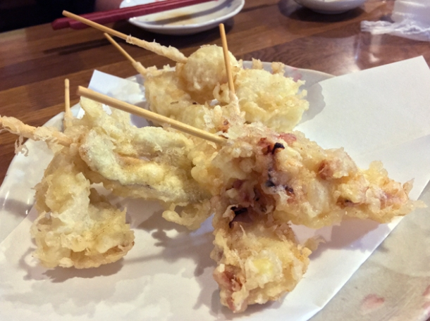 tempura at kanteki